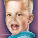 Jack pastelpotlood - pastelpotlood op pastelmat - 20x30cm - niet te koop