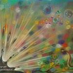 Burst - pastelpotlood op pastelmat - 30x42cm - te koop