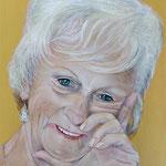 Portret in opdracht - acrylverf op 3D-canvas - 40x50cm - niet te koop