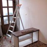 Atelier Marquis - Mise en place de la partie basse