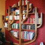 Meuble contemporain - bibliothèque arbre ou cactus