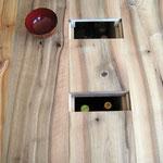 Ebénisterie d'art L'Atelier Marquis - Table basse à tiroirs et secrets