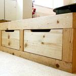 Atelier Marquis - tiroirs sous estrade