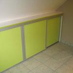 Atelier Marquis - Aménagement intérieur - placard à portes coulissantes