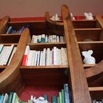Une bibliothèque en forme de cactus