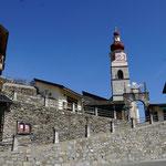 Wallfahrtskirche Maria Luggau - kurz danach brach die Öse...