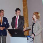 Dr. Hubertus Gaßner, Direktor, Dr. Stefan Brandt, Geschäftsführer, Anke Kuhbier, stlv. Vorsitzende, Kulturforum Hamburg e.V. Foto: Günther von der Kammer