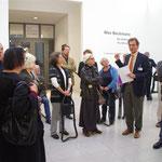 Dr. Hubertus Gaßner, Direktor der Hamburger Kunsthalle, stellt das Modernisierungskonzept vor. Foto: Günther von der Kammer
