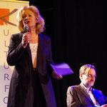 Cornelie Sonntag-Kroll, Kai Hinnrich. Foto: Günther von der Kammer