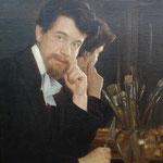 Selbstportrait von Anton Fielgucker