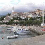 Novi Vinodolski, view from the harbour