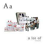 アルファベットシリーズ a「a lot of」