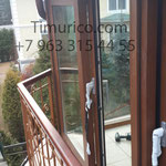 Фасадное остекление, зимний сад, раздвижная дверь. Узнать стоимость по телефону +7 963 315 44 55