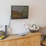 Schlafzimmer mit SAT-TV - 1.OG