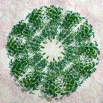 zeroniroku window art「葉の茂り」