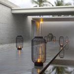 Terrassenüberdachung mit Lamellen