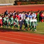 新浜FC入場