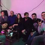 """Mit Frank Richter, Danni Wirth, Melanie Baumann, Nico Arn, Sepp Manser und Eddie Ramirez. Aufgenommen von Beat Bühlmann, ohne wen """"Comedy 16"""" nicht komplett wäre!"""