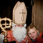 Nikolaus mit Christina