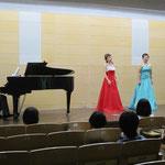 池野さん&村田さん ホフマンの舟歌 ピアノ:岡部さん