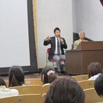 岡部雅弥さんと丸本隆先生