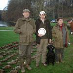 Tweed gewinnt seinen ersten Novice Field Trial in Ways (B)