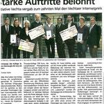 Starke Auftritte belohnt Quelle: Sontagsblatt 11.12.11
