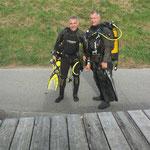 Le tresorier & le président (Laurent & Alain)