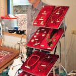 Toni Gahbauer, handgefertigter Gold-, Silber und Bronzeschmuck, , © Foto v.S.Fesl