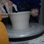 Keramik Auf der Spek,toepferkurse, Foto © H.Ritsch