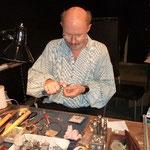 Toni Gahbauer, handgefertigter Gold-, Silber und Bronzeschmuck,  © Foto v.S.Fesl
