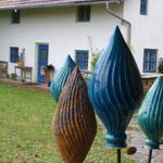 Sommer und Regen bei Keramik Auf der Spek , © M. Waubke