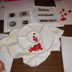 "Perlenketten aus Fimo  ""Perlenwerkstatt"" im Herbst 2013"