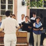 Romantische deutsche Volkslieder, Pfarrhof der Kath. Kirche, Lambsheim, 2000