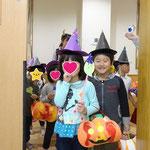 湘南まるめろ保育園の4歳児さん、お化けのステッキが可愛かったです♡