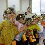湘南まるめろ保育園の3歳児さん、なり切っていてポーズもきまっていました☆