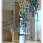 湘南まるめろ保育園の笹飾りです。