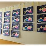 第2湘南まるめろ保育園の2歳児さんの作品です。