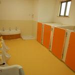 4.5歳児さんが使用するトイレ