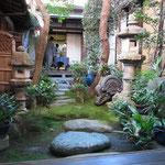 大宮庵の坪庭