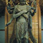 木造軍茶利明王立像(金勝寺絵はがきより)