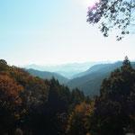 伏拝王子から見渡せる、熊野本宮大社旧社地の「大斎原」。