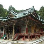 日吉東照宮‥今日は特別公開で拝殿も入ることができた