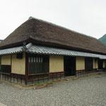 「旧永井家庄屋屋敷」母屋