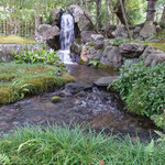 琵琶湖疎水の水を引いて造られた瀧