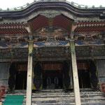 日吉東照宮‥すばらしく豪華な彫り物