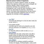 9.- Verbos Irregulares.
