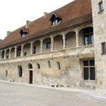 La partie qui reste du château d'origine