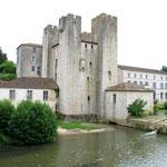 La forteresse transformé en moulin au 18 eme siècle