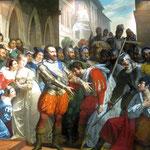Henri de Navarre à Libourne aprés la bataille de Coutras